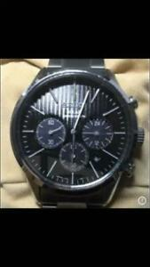 Seiko-Chronograph-Chronograph-Solar-Mens-Watch-Authentic-Working