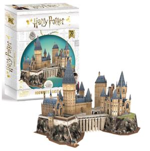 Harry-Potter-Hogwarts-Castillo-Rompecabezas-3D-Modelo-PL