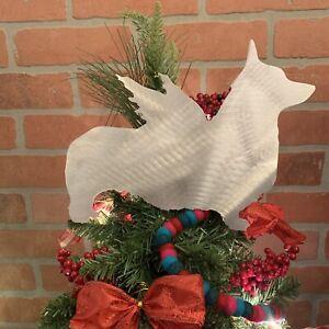 Pembroke Welsh Corgi Angel, Dog Tree Topper, Wreath Decor ...