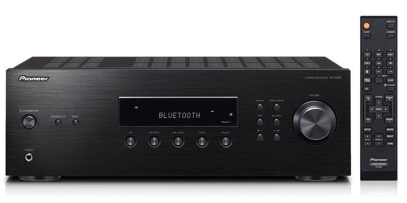 Pioneer - 2.0-Ch. Stereo Receiver - Black