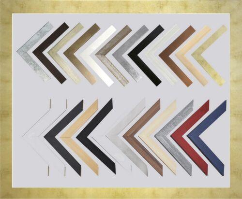 Mona 43,5 x 57,5 cm Bilderrahmen Homedeco 24 Holzwerkstoff Wahl Farbe Verglasung