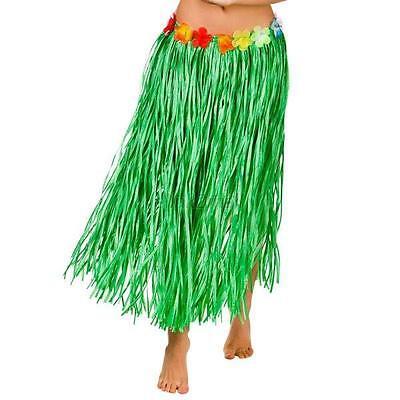 Hot 80cm Long Hawaiian Hula Grass Party Dress Luau Skirt Beach Dance Costume E79