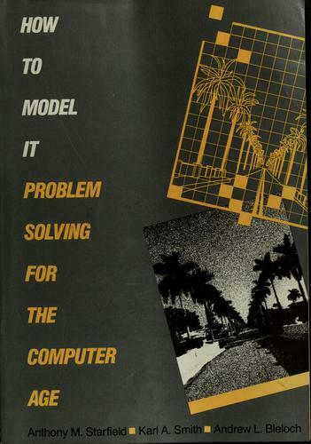 How to Model It : Problem Solving for the Computer Age-ExLibrary