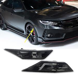 Paar-Smoked-Side-LED-Blinker-Seitenblinker-Civic-Type-R-ab-2017-2016-2018