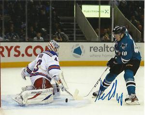 San-Jose-Sharks-Tomas-Hertl-Autographed-Signed-8x10-Photo-COA