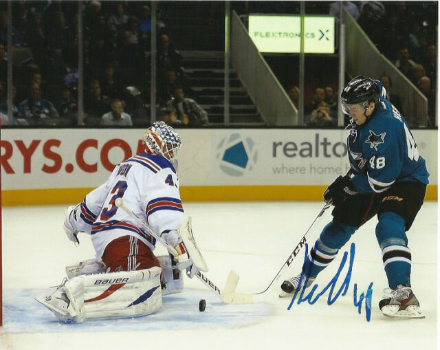San Jose Sharks Tomas Hertl Autographed Signed 8x10 Photo COA
