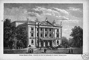 1889#das Barnays Theater à Berlin #barnay #brandenburg-brandenburg Fr-fr Afficher Le Titre D'origine Avec Le Meilleur Service