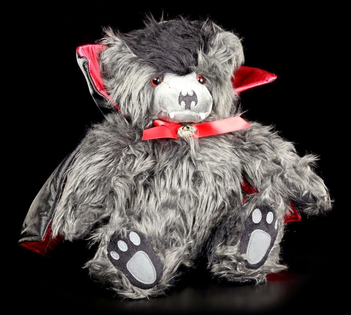 Plüschteddy Vampir - Ted the Impaler - Mit Rucksack - Spiral Gothic Bär Tier