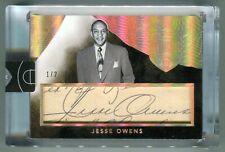 Jesse Owens 2014 15 Panini Eminence Cut Signatures Auto Olympic Sprinter #1/2 SP