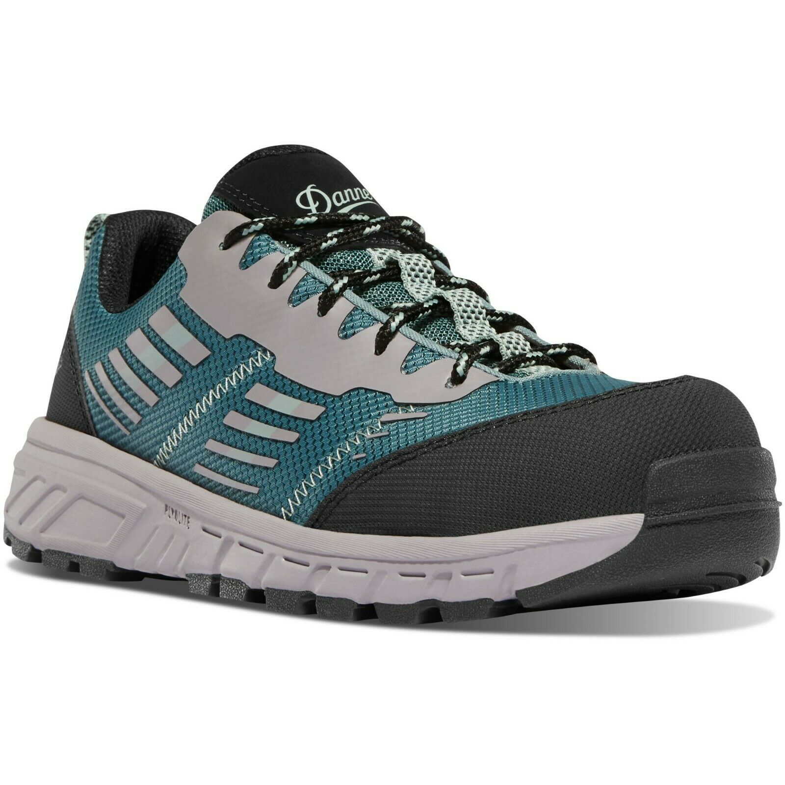 Danner 12373 Women's Run Time 3  Teal NMT Composite Toe Mesh Textile Work shoes