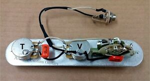 premium bill lawrence 5 way tele telecaster wiring harness image is loading premium bill lawrence 5 way tele telecaster wiring