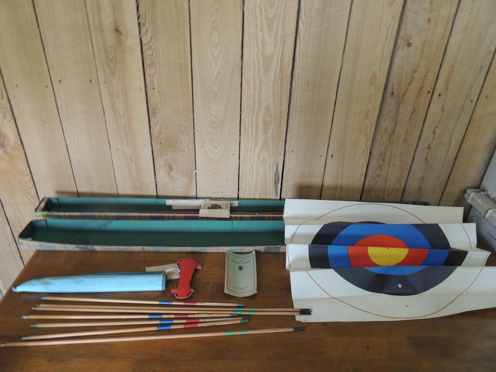 Scholastic Tiro Con Arco Set, Indian Archery & Juguete con flechas, Target, folleto Cochecaj