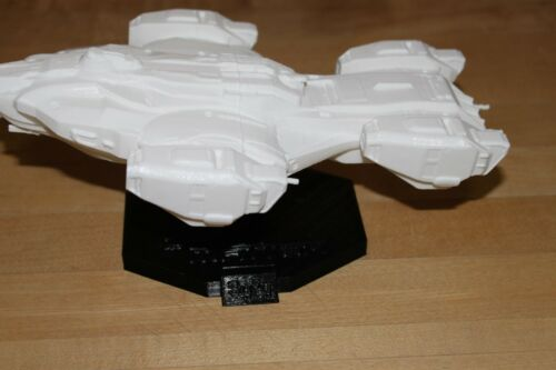 Syfy Spaceship replica w// Stand The Raza Dark Matter 3D Printed Znet3D