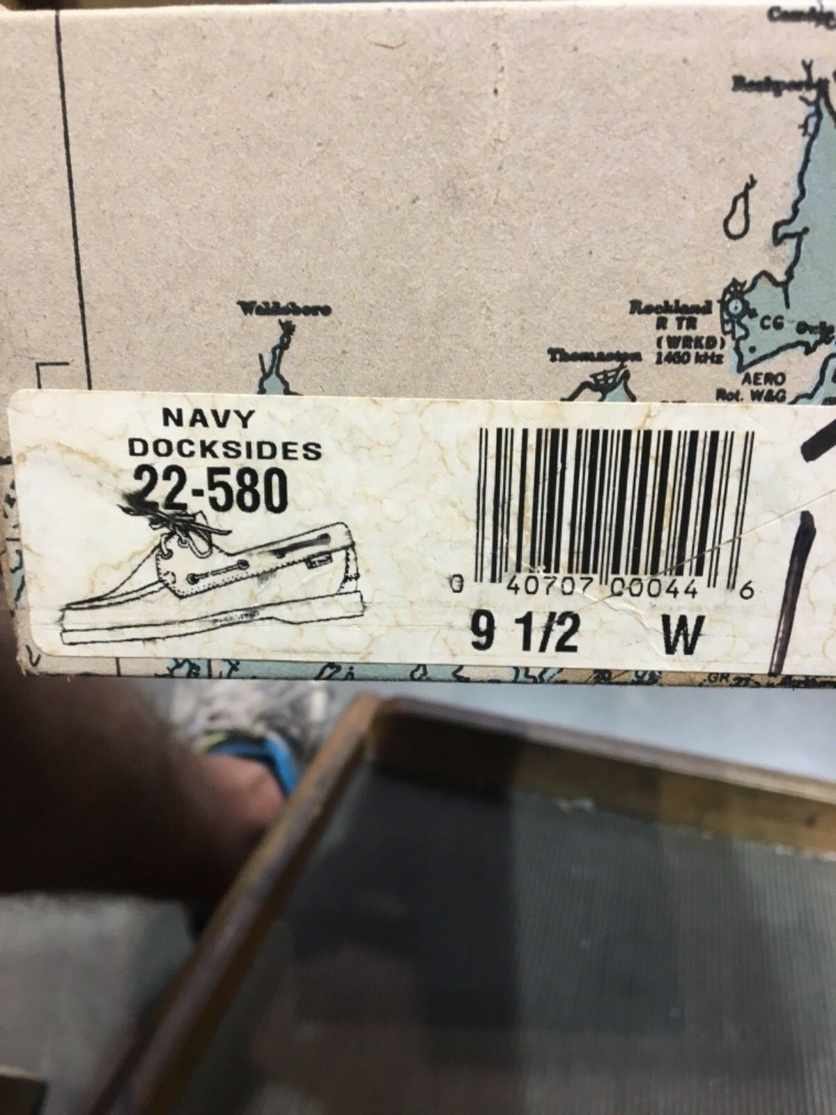 Sebago dockside damen damen damen 9,5 w navy 3f46ad