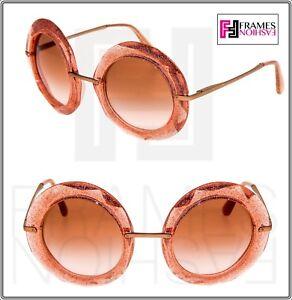 54644cbf993 Image is loading Dolce-amp-Gabbana-6105-Nude-Pink-Crystal-Glitter-