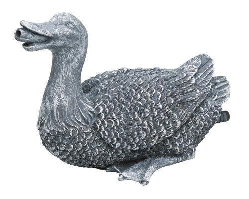 Oase Wasserspeier Ente Tierfigur
