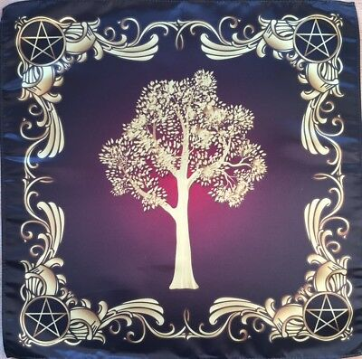 Tablecloth Scarf Wiccan Tree Power of Nature Cloth Wicca Pagan Witch shawl