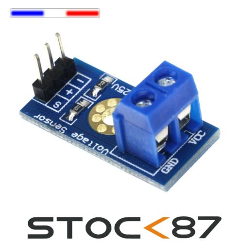 Arduino Voltage Sensor 5342# 1 à 10pcs Module mesure de tension
