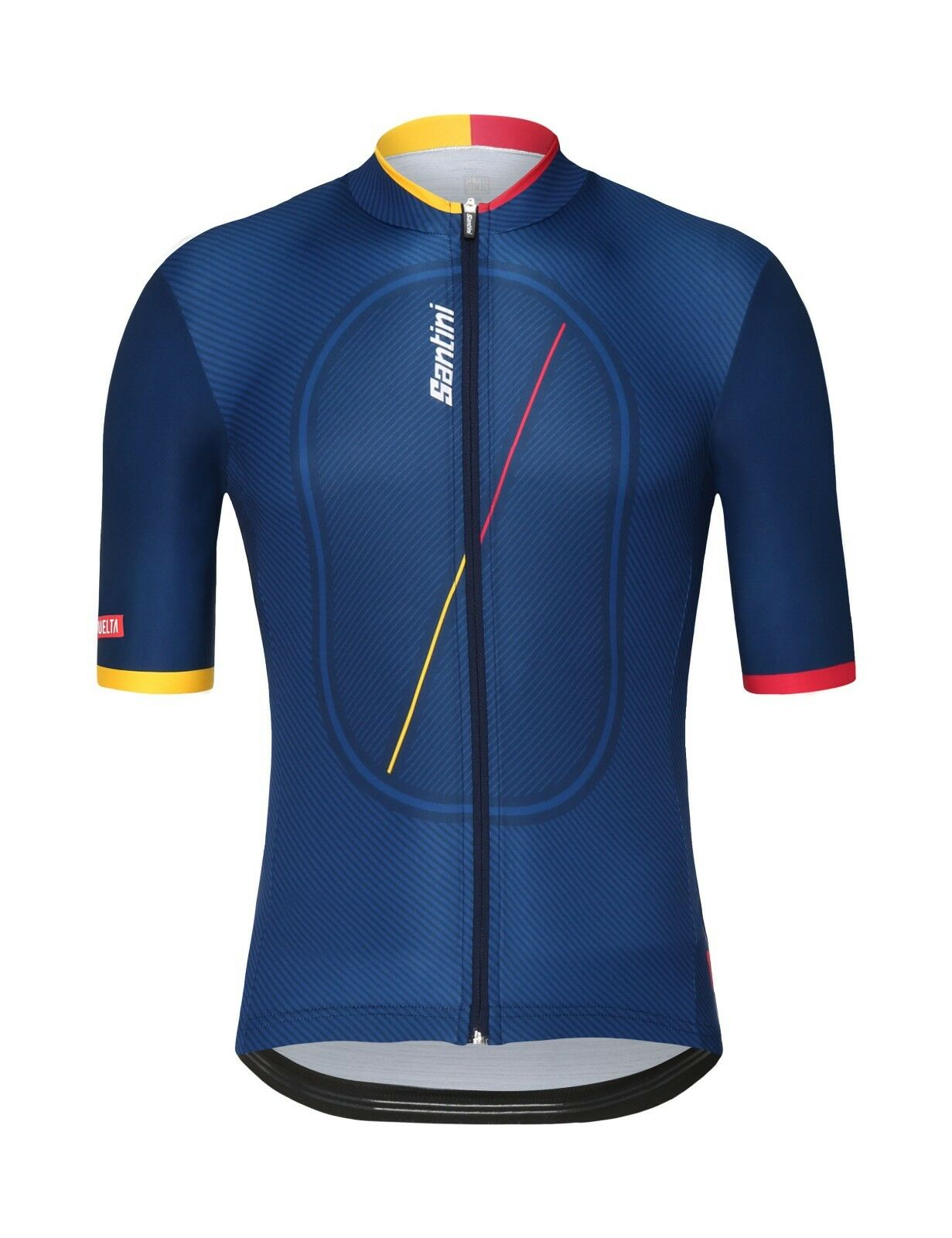 2018 La Vuelta Cero Cycling Jersey  Made in  by Santini