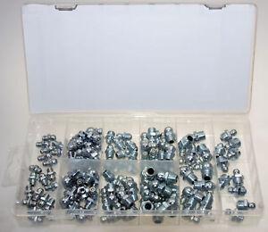 20 schwarze universal Schmiernippel Schutzkappen