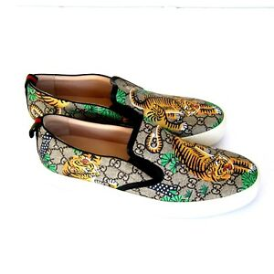 1171eae5f J-2968279 New Gucci Bengal Tiger Slip On Loafer Shoes Size US 12 ...