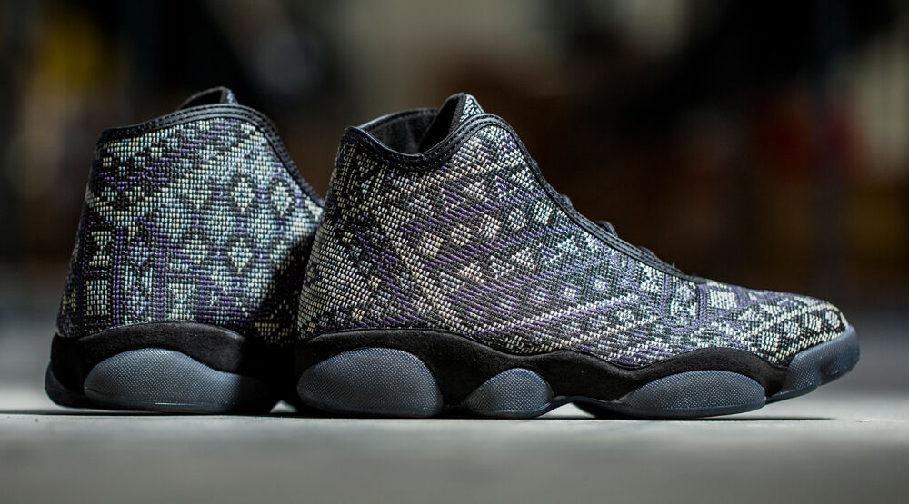 NIKE AIR JORDAN HORIZON PREMIUM 822333-022 Black History Month Men's Sneakers