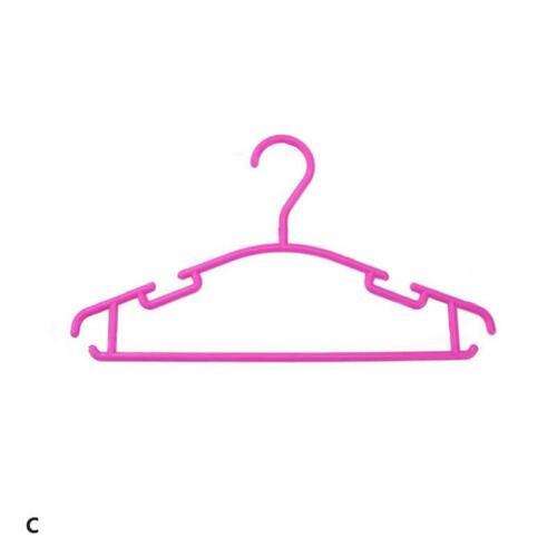 10Pcs Kinder Baby Jungen Mädchen Kunststoff Kleiderbügel für Bekleidung Store