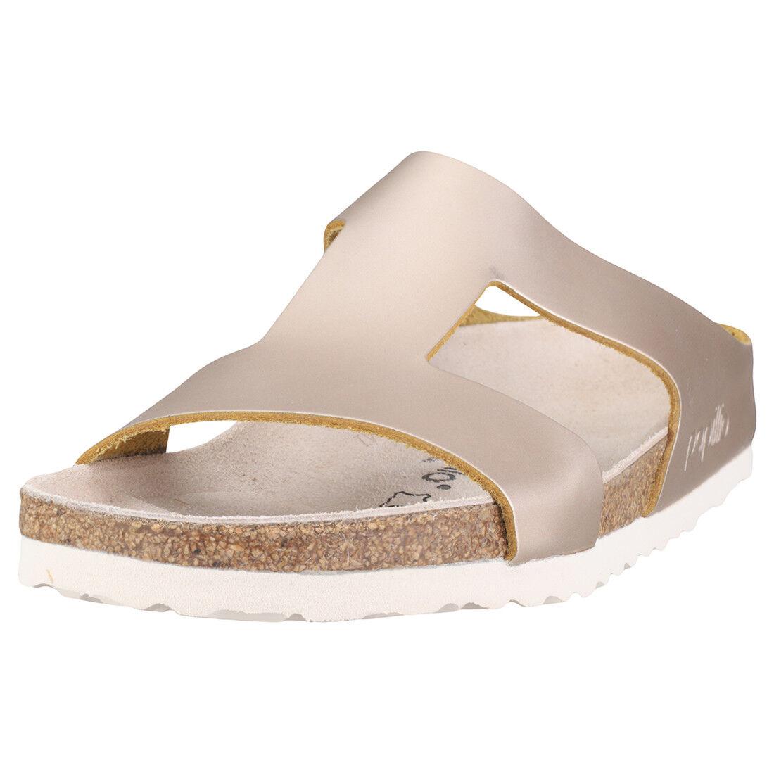 Birkenstock Charlize Papillio Narrow Fit Damen - Rose Gold Leder Sandalen - Damen 38 EU 66226d