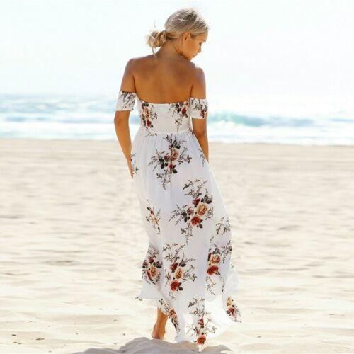 Vestidos Largos de Verano Para Mujer Elegantes Ropa De Moda Casuales Playa 2019