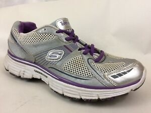 SKECHERS Tone Ups 11752 Silver Purple