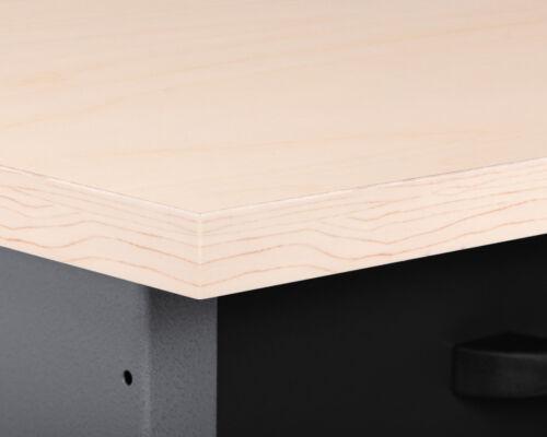 Ondis24 Werkbank Werktisch Montagewerkbank Schubladenschrank Metall 120 cm Bank