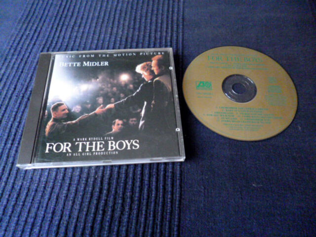 CD Soundtrack MUSIC Bete Midler For The Boys 1991 James Caan Mark Rydell OST nm
