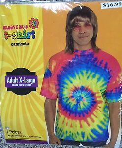 Groovy-18-3ms-Batik-T-Shirt-Kostuem-Erwachsene-XL-Nip