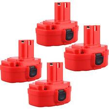 4 x 18 Volt 18V 2.0AH  Battery for MAKITA 1822 1823 1833 1834 1835 Cordless Dril