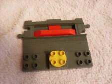 LEGO DUPLO THOMAS THE TANK ENGINE TRAIN TRACK GREY TRAIN STOP PLATE