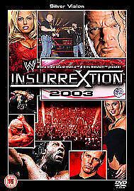 WWE-Insurrextion-2003-Silver-Vision-DVD-WWF