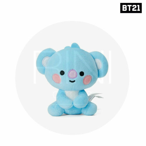 Tracking # BTS BT21 Official Authentic Goods Sitting Doll 12cm Baby Ver
