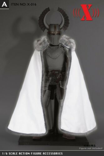 "1//6 scale Cloak Cape For 12/"" TBLeague VERYCOOL HotToys PHICEN Male Female Figure"