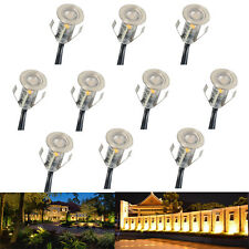 18 x hpm led tall bollards outdoor landscape lights transformer and 10x 18mm ip67 12v 04w outdoor yard path stairs patio led boat deck floor lights aloadofball Gallery