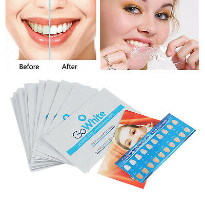 28 Strips/14 Pouches Professional 3D White Teeth Whitening Effects Whitestrips