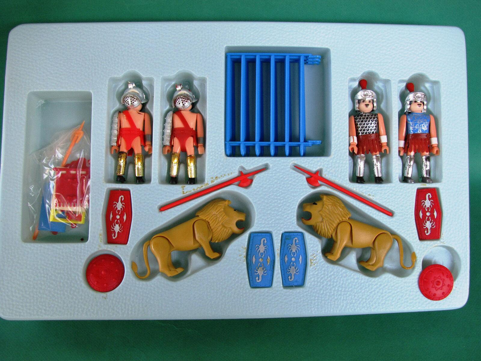 VTG Airgam Boys Playmobil Roman Lion Fighters Pyroplast
