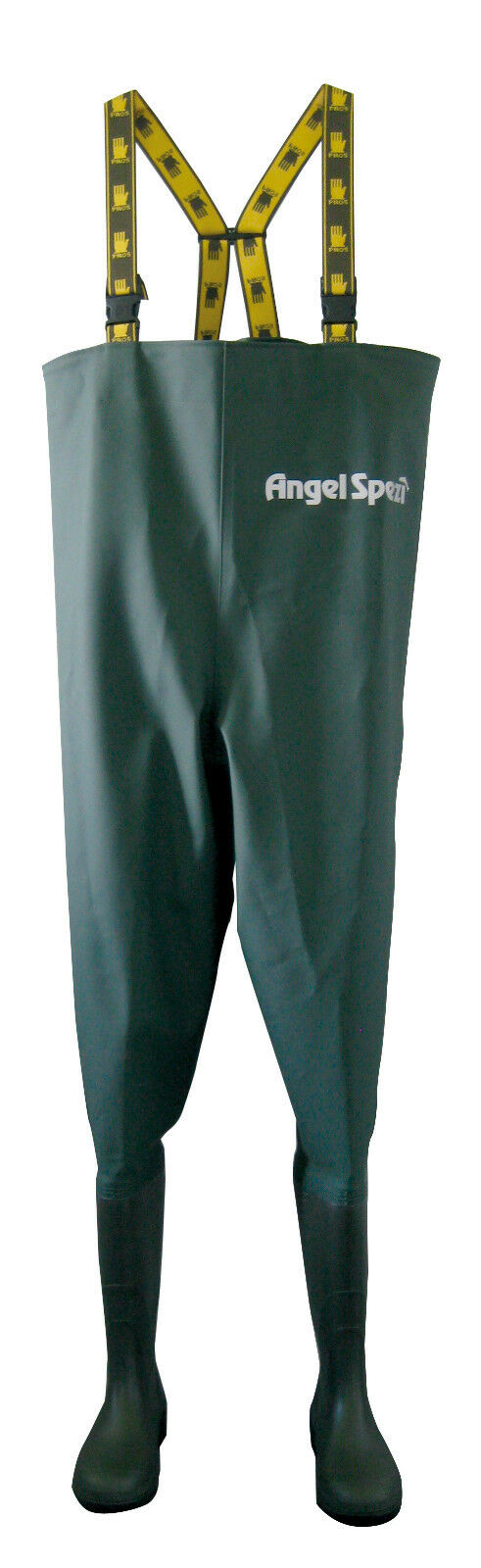 Angel specific quality waders professional fisherSie Quality All Größes WADERS PVC