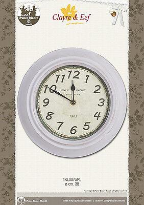 Cosciente Clayre & Eef. Orologio – Clock – Uhr. 4kl0075pl.