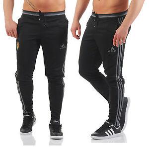 292085febd7d52 Das Bild wird geladen Adidas-Herren-3S-Hose-Belgien-Pant-Trainingshose- Jogginghose-
