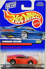 HOT WHEELS 1999 FERRARI F512M COLLECTOR #992 RED