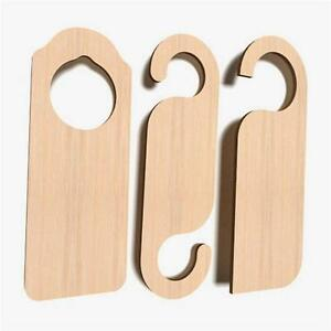 10x Turschild Aus Holz Dekoschild Wendeschild Turhanger Basteln