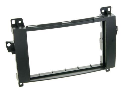 Para mercedes a-clase w169 auto radio diafragma instalación marco doble DIN 2-din
