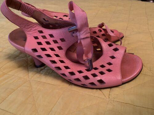 Pink Fluevog Sandals - Adorable!