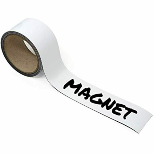 Sutter Signs Dry Erase Write On Magnet Roll 2-inch Wide By 10-feet Long Labels