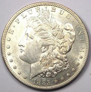 1885-S-Morgan-Silver-Dollar-1-Excellent-Condition-Nice-Luster-Rare-Date
